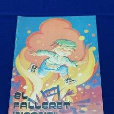 Coleccionismo de Revista Temas Españoles: EL FALLERET INFANTIL 1978. Lote 204455227
