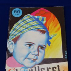 Coleccionismo de Revista Temas Españoles: EL FALLERET INFANTIL 1976- FIRMANDO JUAN GOMEZ DELEGADO DE FALLAS INFANTILES FOTO PRINCIPE +HERMANAS. Lote 204457191