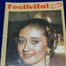 Coleccionismo de Revista Temas Españoles: FESTIVITAT FALLERA 1987. Lote 204483312