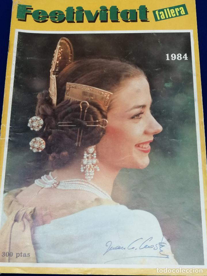 Coleccionismo de Revista Temas Españoles: FESTIVITAT FALLERA 1984 - Foto 2 - 204483741