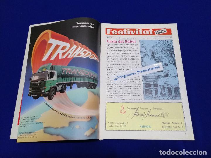 Coleccionismo de Revista Temas Españoles: FESTIVITAT FALLERA 1984 - Foto 4 - 204483741