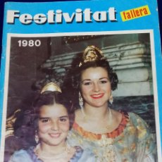 Coleccionismo de Revista Temas Españoles: FESTIVITAT FALLERA 1980. Lote 204483937