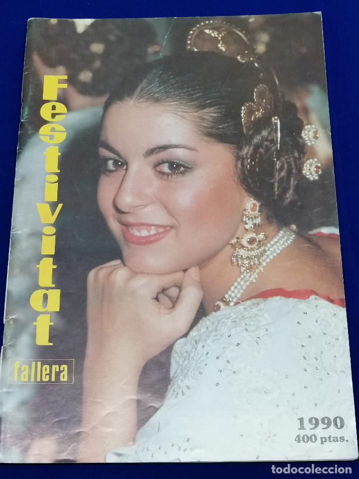 FESTIVITAT FALLERA 1990 (Papel - Revistas y Periódicos Modernos (a partir de 1.940) - Revista Temas Españoles)