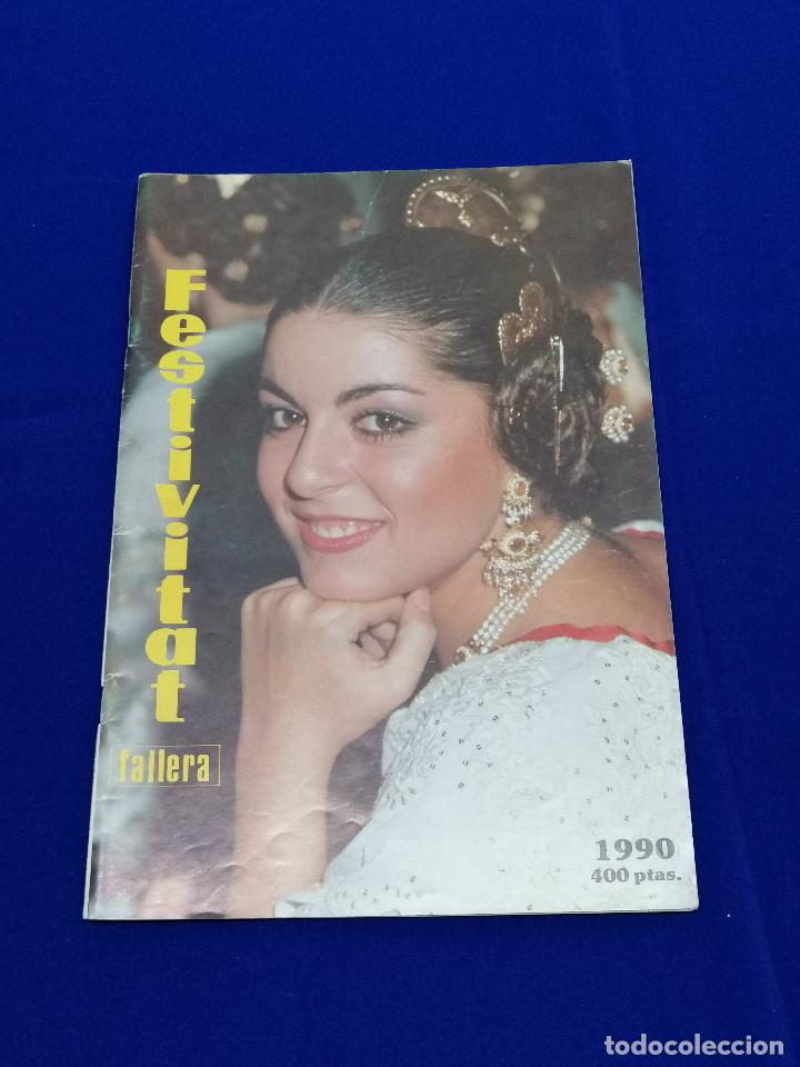 Coleccionismo de Revista Temas Españoles: FESTIVITAT FALLERA 1990 - Foto 2 - 204484097