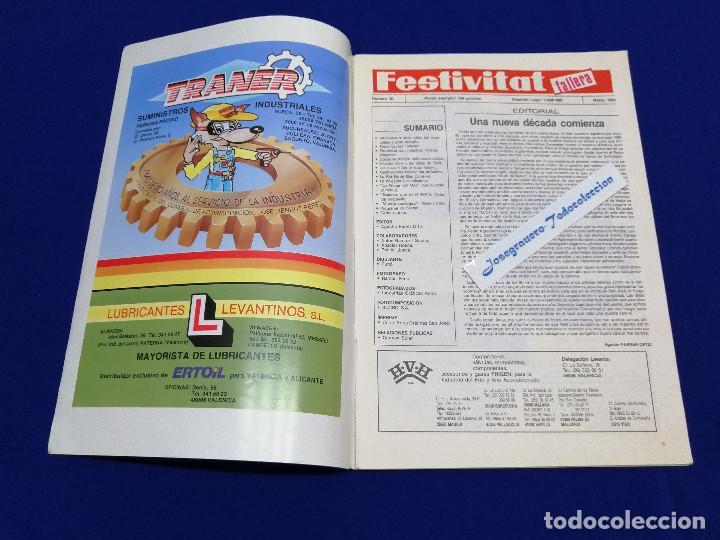 Coleccionismo de Revista Temas Españoles: FESTIVITAT FALLERA 1990 - Foto 3 - 204484097