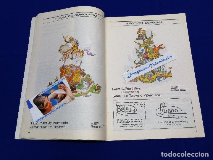 Coleccionismo de Revista Temas Españoles: FESTIVITAT FALLERA 1990 - Foto 5 - 204484097