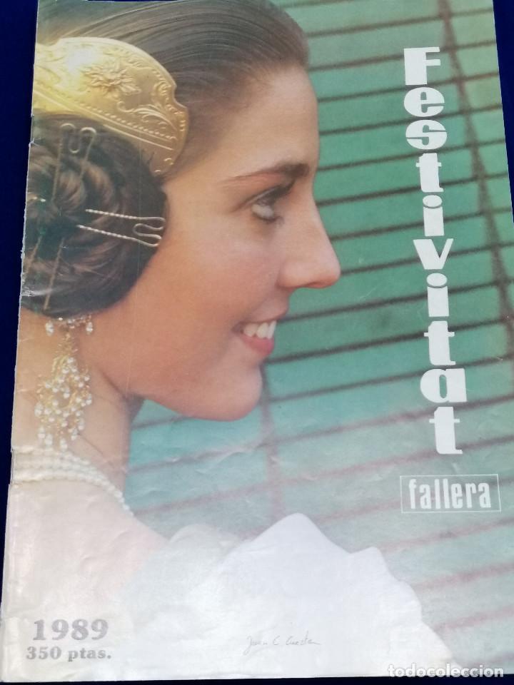 Coleccionismo de Revista Temas Españoles: FESTIVITAT FALLERA 1989 - Foto 2 - 204484600