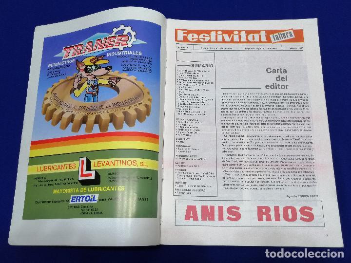 Coleccionismo de Revista Temas Españoles: FESTIVITAT FALLERA 1989 - Foto 3 - 204484600