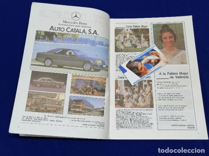 Coleccionismo de Revista Temas Españoles: FESTIVITAT FALLERA 1989 - Foto 4 - 204484600