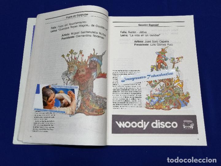 Coleccionismo de Revista Temas Españoles: FESTIVITAT FALLERA 1989 - Foto 5 - 204484600