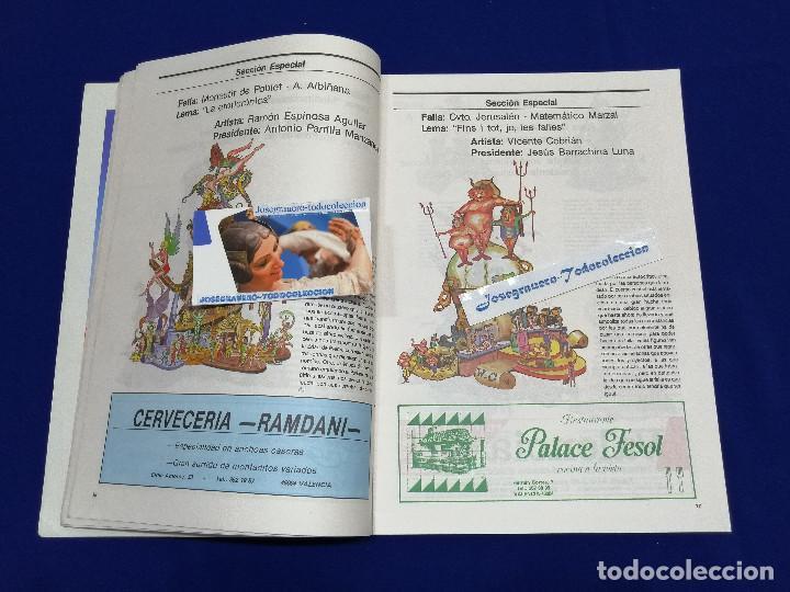 Coleccionismo de Revista Temas Españoles: FESTIVITAT FALLERA 1989 - Foto 6 - 204484600