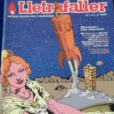 Coleccionismo de Revista Temas Españoles: LLETRAFALLER 2005 NUMERO 2. Lote 204608577