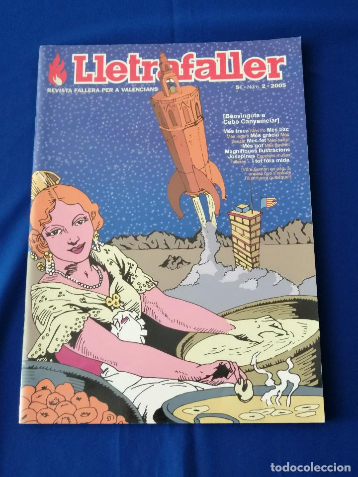 Coleccionismo de Revista Temas Españoles: LLETRAFALLER 2005 NUMERO 2 - Foto 2 - 204608577