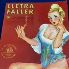 Coleccionismo de Revista Temas Españoles: LLETRA FALLER 2009. Lote 204616910