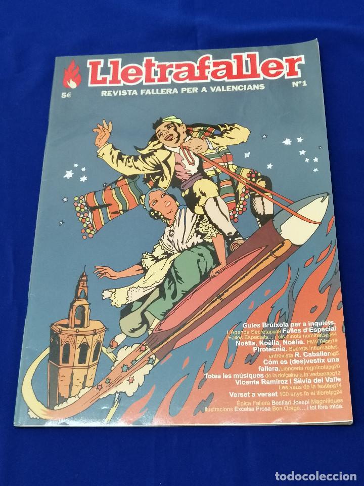 LLETRAFALLER NUMERO 1 2004 (Papel - Revistas y Periódicos Modernos (a partir de 1.940) - Revista Temas Españoles)