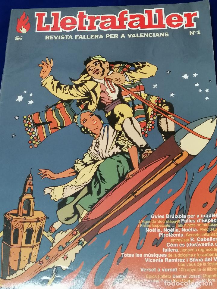 Coleccionismo de Revista Temas Españoles: LLETRAFALLER NUMERO 1 2004 - Foto 2 - 204617696