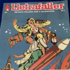 Coleccionismo de Revista Temas Españoles: LLETRAFALLER NUMERO 1 2004. Lote 204617985