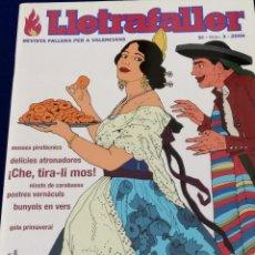 Coleccionismo de Revista Temas Españoles: LLETRAFALLER NUMERO 3 2006. Lote 204618471