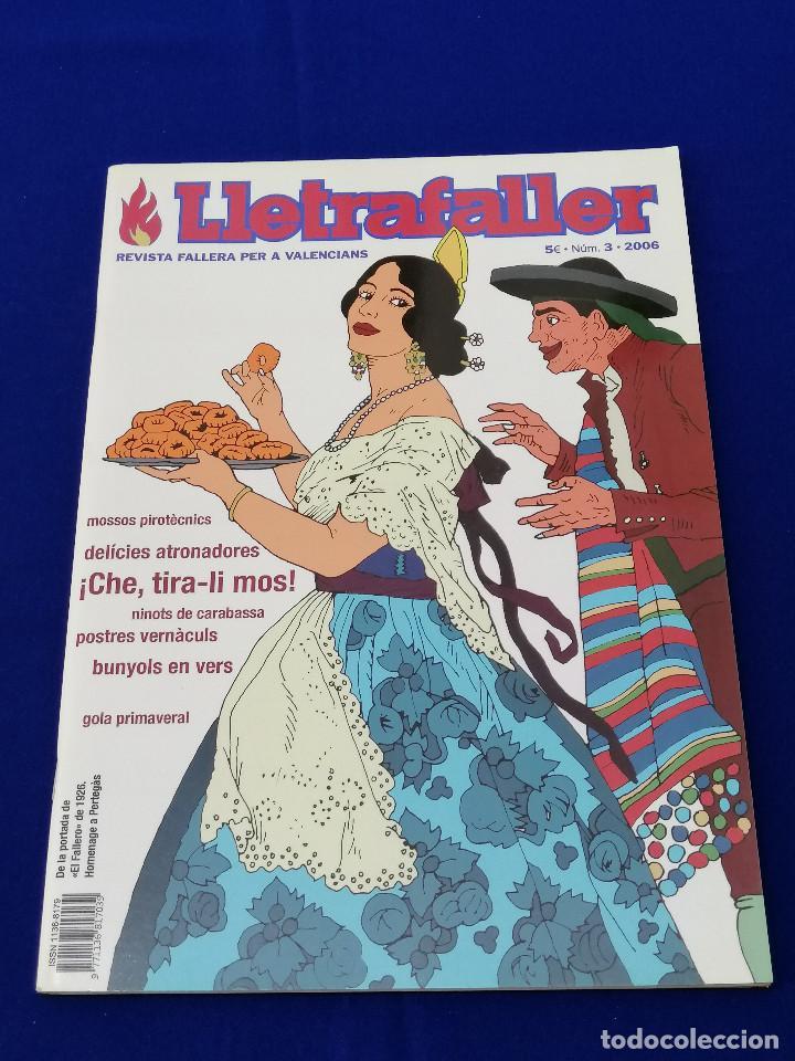 Coleccionismo de Revista Temas Españoles: LLETRAFALLER NUMERO 3 2006 - Foto 2 - 204618471