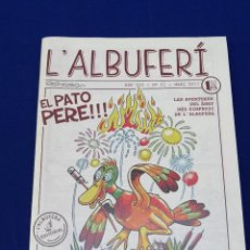 Coleccionismo de Revista Temas Españoles: L'ALBUFERI 2017 NUMERO 1 COMIC VALENCIANO. Lote 204621755