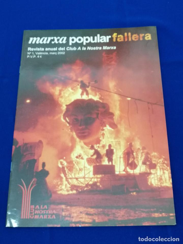 Coleccionismo de Revista Temas Españoles: MARXA POPULAR FALLERA 2002 NUMERO 1 - Foto 2 - 204622207