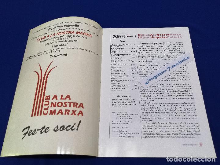 Coleccionismo de Revista Temas Españoles: MARXA POPULAR FALLERA 2002 NUMERO 1 - Foto 3 - 204622207