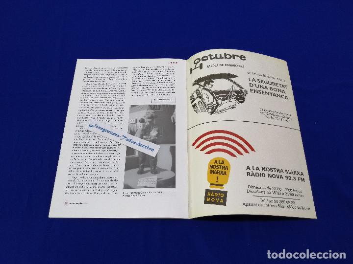 Coleccionismo de Revista Temas Españoles: MARXA POPULAR FALLERA 2002 NUMERO 1 - Foto 7 - 204622207