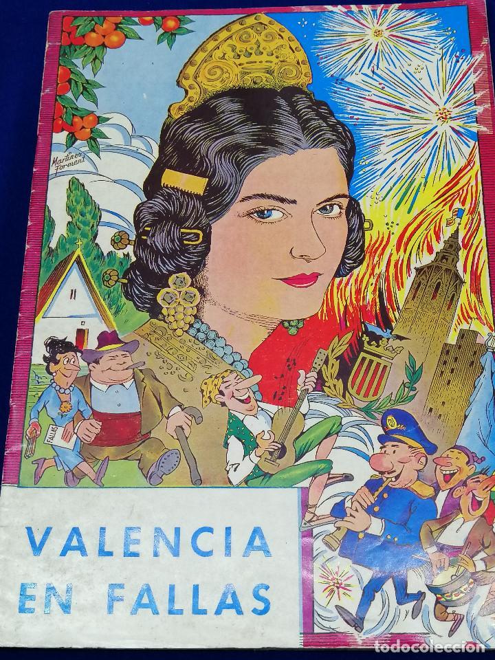 VALENCIA EN FALLAS 1966 REVISTA FALLERA (Papel - Revistas y Periódicos Modernos (a partir de 1.940) - Revista Temas Españoles)