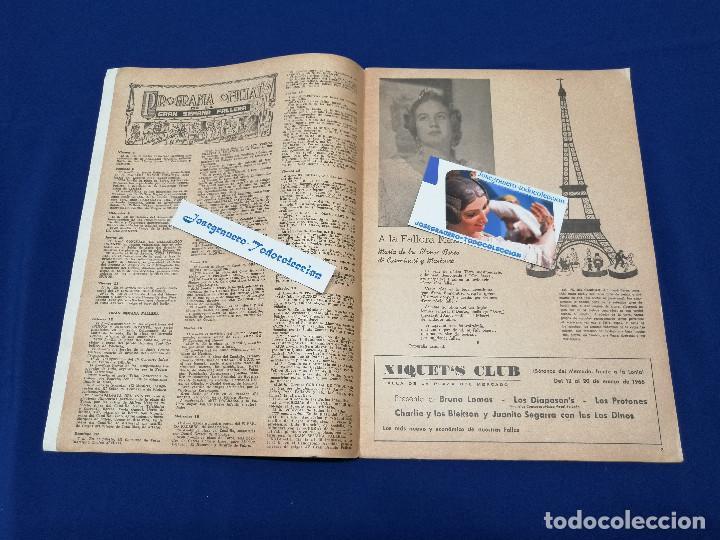 Coleccionismo de Revista Temas Españoles: VALENCIA EN FALLAS 1966 REVISTA FALLERA - Foto 4 - 204625187