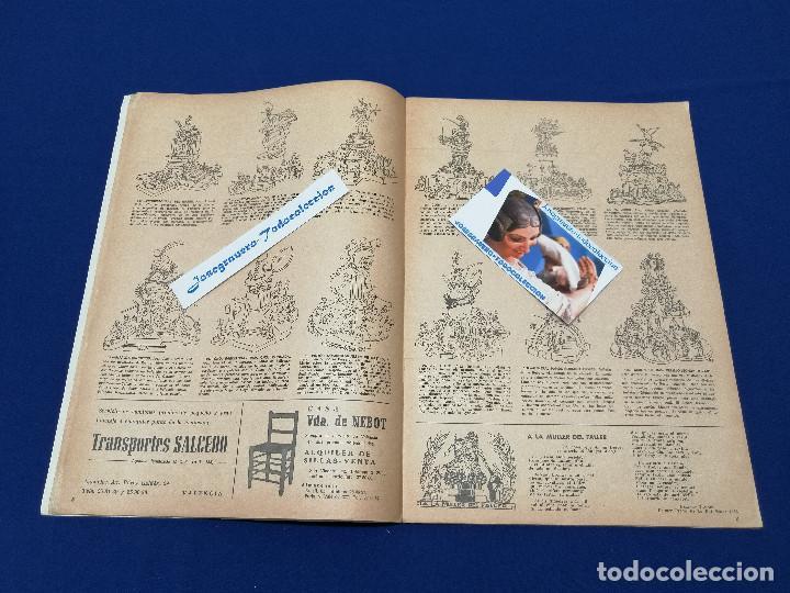 Coleccionismo de Revista Temas Españoles: VALENCIA EN FALLAS 1966 REVISTA FALLERA - Foto 5 - 204625187