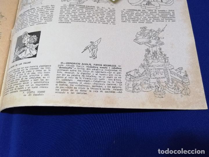 Coleccionismo de Revista Temas Españoles: VALENCIA EN FALLAS 1966 REVISTA FALLERA - Foto 8 - 204625187