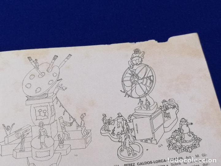 Coleccionismo de Revista Temas Españoles: VALENCIA EN FALLAS 1966 REVISTA FALLERA - Foto 9 - 204625187