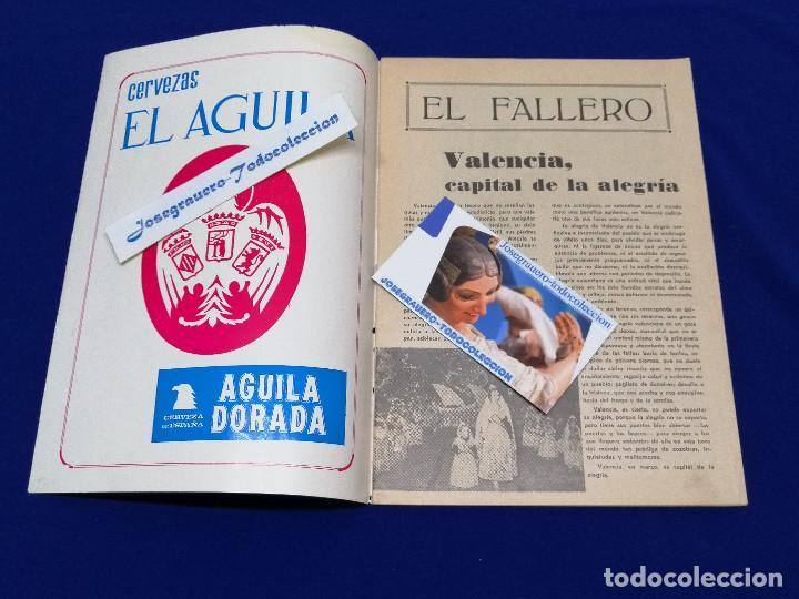 Coleccionismo de Revista Temas Españoles: EL FALLERO 1972 - Foto 3 - 204626471