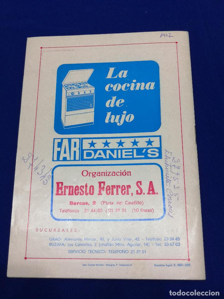 Coleccionismo de Revista Temas Españoles: EL FALLERO 1972 - Foto 9 - 204626471