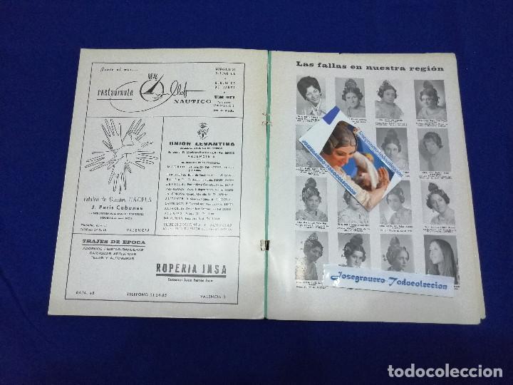 Coleccionismo de Revista Temas Españoles: LIBRO FALLERO 1971 - Foto 15 - 204626833