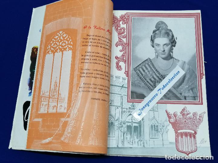 Coleccionismo de Revista Temas Españoles: LIBRO FALLERO 1963 - Foto 9 - 204627061