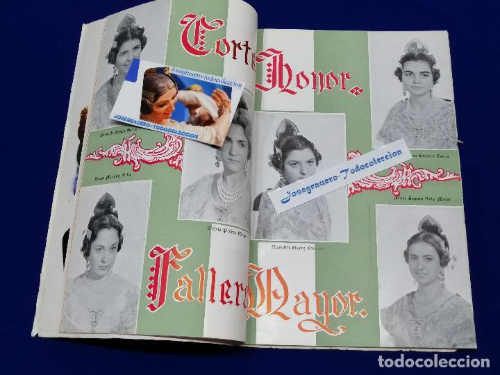 Coleccionismo de Revista Temas Españoles: LIBRO FALLERO 1963 - Foto 10 - 204627061
