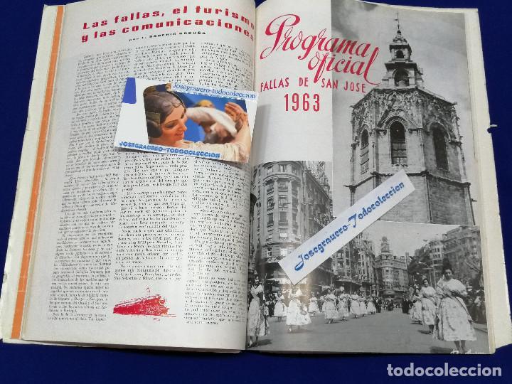 Coleccionismo de Revista Temas Españoles: LIBRO FALLERO 1963 - Foto 13 - 204627061