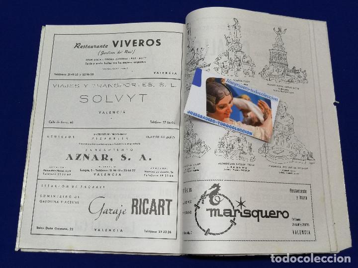 Coleccionismo de Revista Temas Españoles: LIBRO FALLERO 1963 - Foto 16 - 204627061