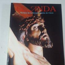 Coleccionismo de Revista Temas Españoles: REVISTA EL ANDA SEMANA SANTA DE CIEZA 1997. Lote 206567257
