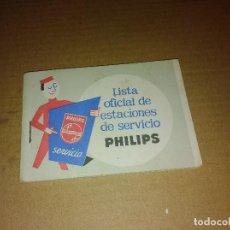 Coleccionismo de Revista Temas Españoles: LIBRO LISTA OFICIAL SERVIVIO PHILIPS LEER. Lote 207288693
