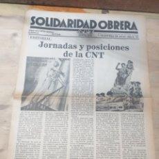 Coleccionismo de Revista Temas Españoles: PERIODICO SOLIDARIDAD OBRERA,NUMERO 67 1980 IIIEPOCA. Lote 208457243