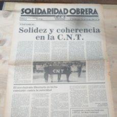 Coleccionismo de Revista Temas Españoles: PERIODICO SOLIDARIDAD OBRERA, NUMERO 65 1980 III EPOCA. Lote 208457810
