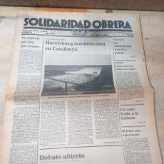 Coleccionismo de Revista Temas Españoles: PERIODICO SOLIDARIDAD OBRERA,NUMERO 42 ABRIL DE 1979 III EPOCA. Lote 208461260