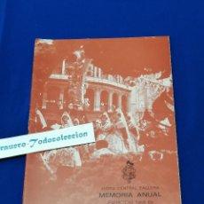 Coleccionismo de Revista Temas Españoles: MEMORIA ANUAL JUNTA CENTRAL FALLERA EJERCICIO 1968-69. Lote 208596836