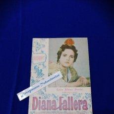 Coleccionismo de Revista Temas Españoles: DIANA FALLERA 1961. Lote 208645506