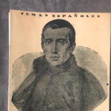 Coleccionismo de Revista Temas Españoles: REVISTA TEMAS ESPAÑOLES - AÑO 1954 NÚMERO 133 - BALMES. Lote 209749130