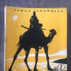 Coleccionismo de Revista Temas Españoles: REVISTA TEMAS ESPAÑOLES - AÑO 1954 NÚMERO 94 - EL SAHARA ESPAÑOL. Lote 209749443