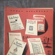 Coleccionismo de Revista Temas Españoles: REVISTA TEMAS ESPAÑOLES - AÑO 1956 NÚMERO 215 - REVISTAS CULTURALES DE POSTGUERRA. Lote 209749632
