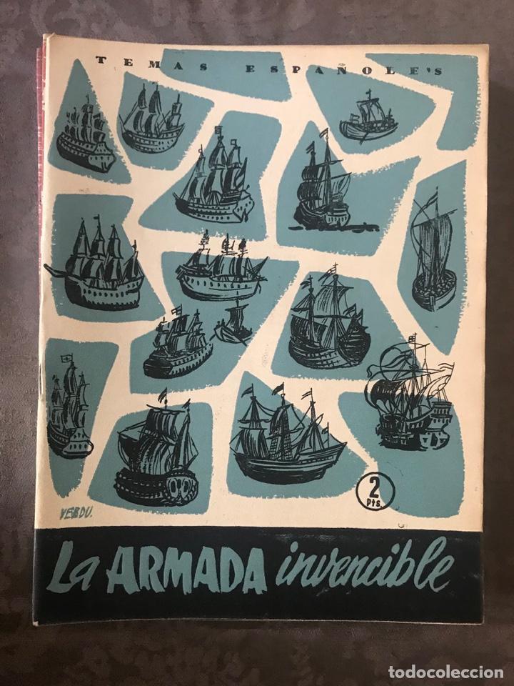 REVISTA TEMAS ESPAÑOLES - AÑO 1956 NÚMERO 233 - LA ARMADA INVENCIBLE (Papel - Revistas y Periódicos Modernos (a partir de 1.940) - Revista Temas Españoles)